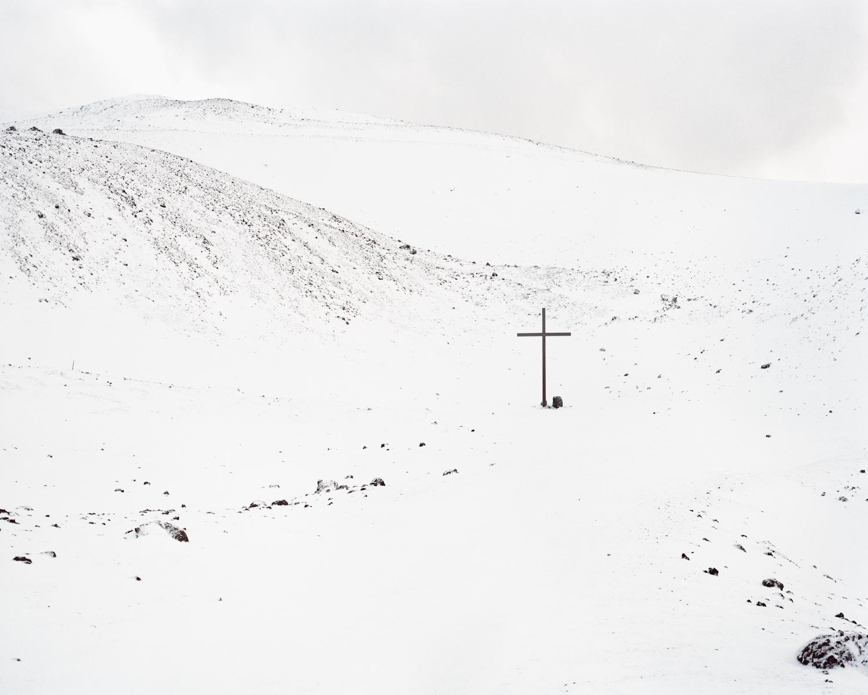 Eldfell Crater, Vestmannaeyjar, 2015.  Project Statement