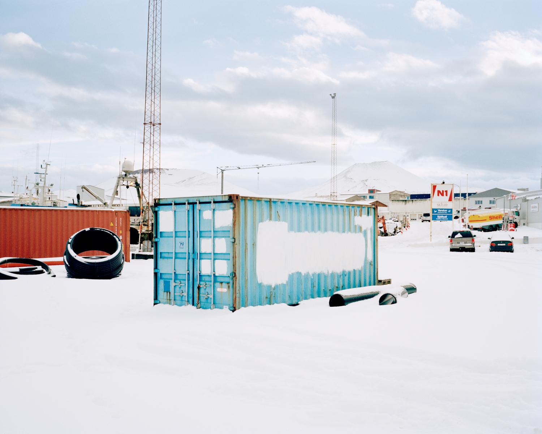 Cargo Container, Vestmannaeyjar, 2015.  Project Statement