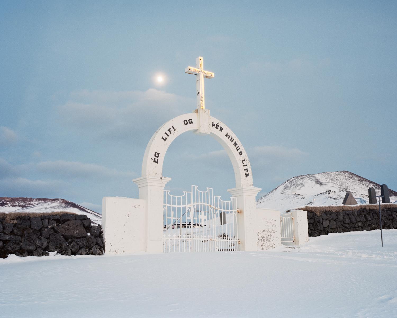 Cemetery Gates, Vestmannaeyjar, 2015.  Project Statement