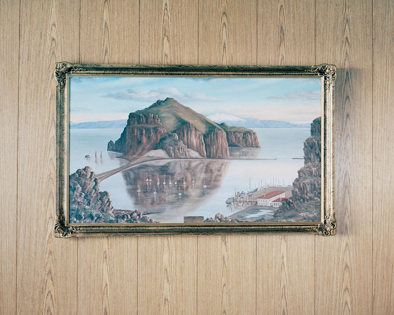Port Vestmannaeyjar Painting, Vestmannaeyjar, 2015.  Project Statement