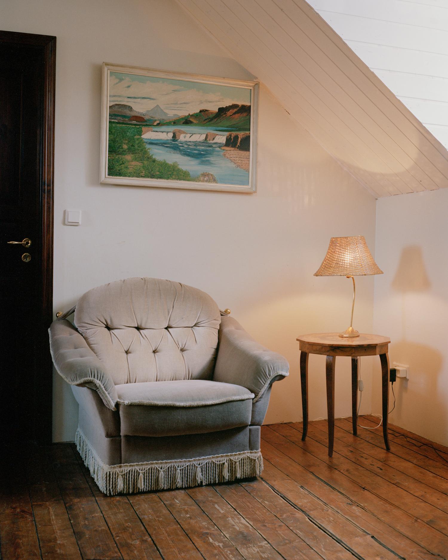 Interior #2, Vestmannaeyjar, 2015.  Project Statement