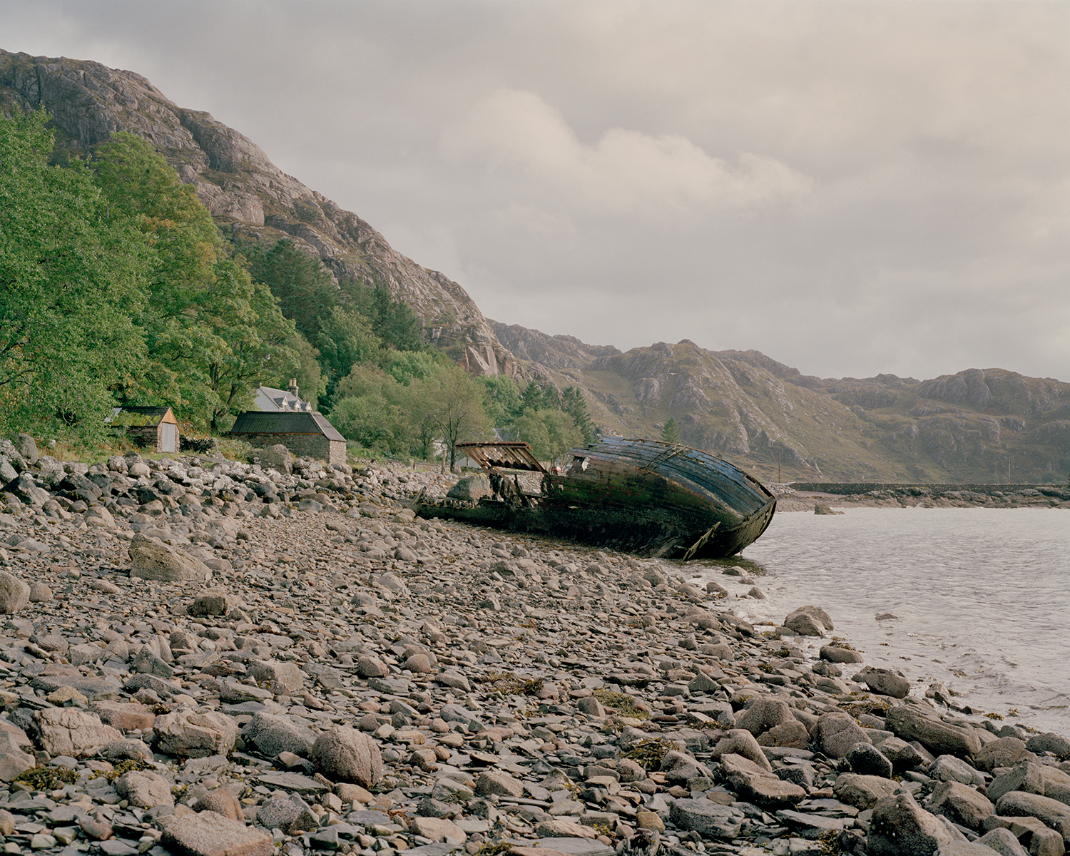 Loch Diabaig, Wester Ross, 2016.  Project Statement