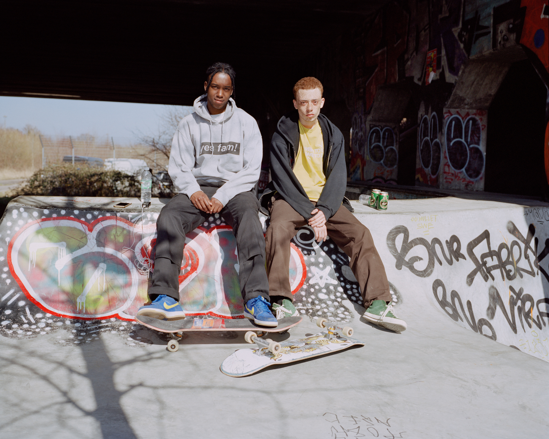 Josh & Elliot. Bispebjerg, Copenhagen, 2018.  Project Statement