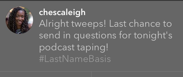 Chescaleigh tweet pic
