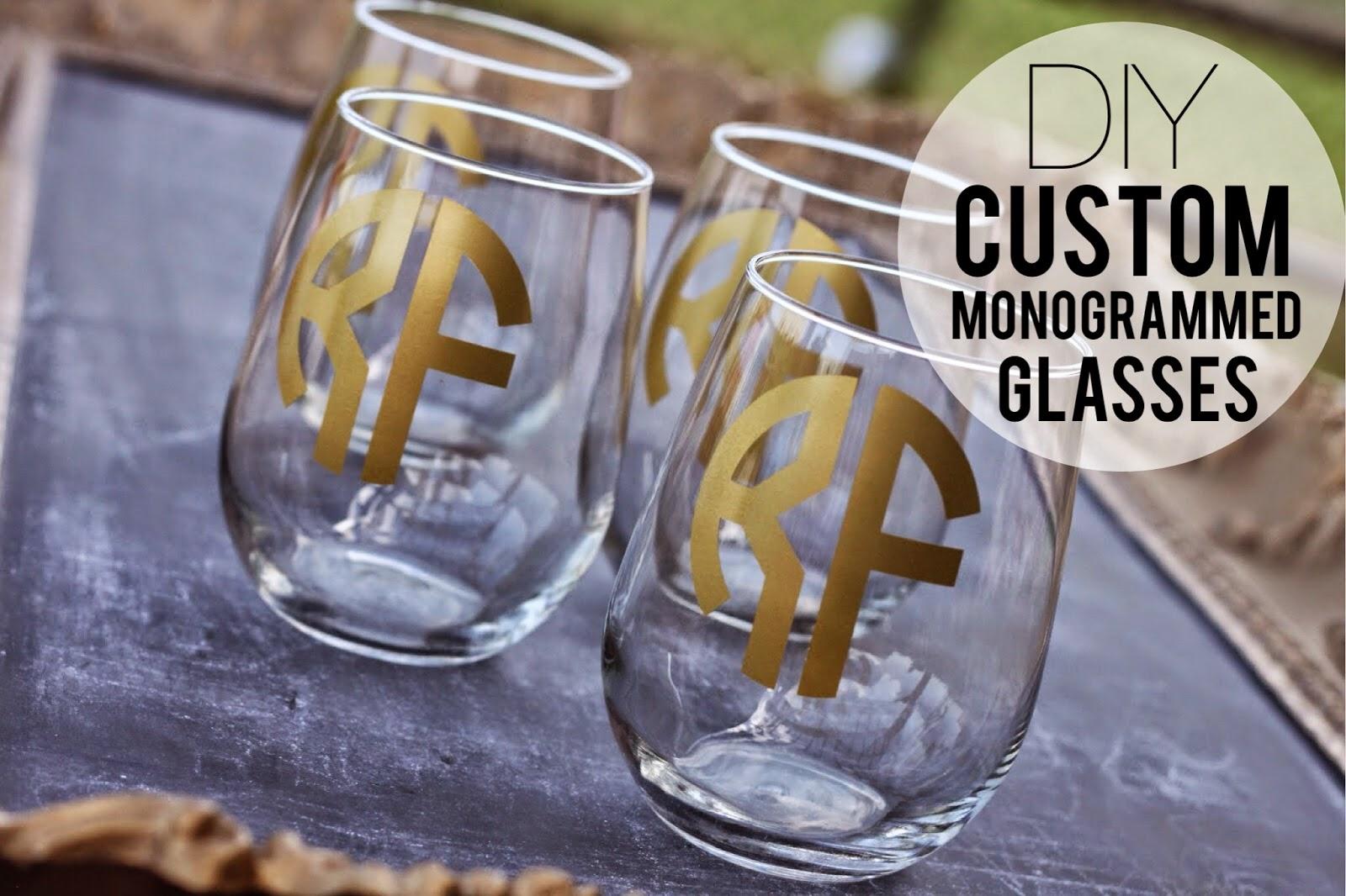 DIY wine glasses