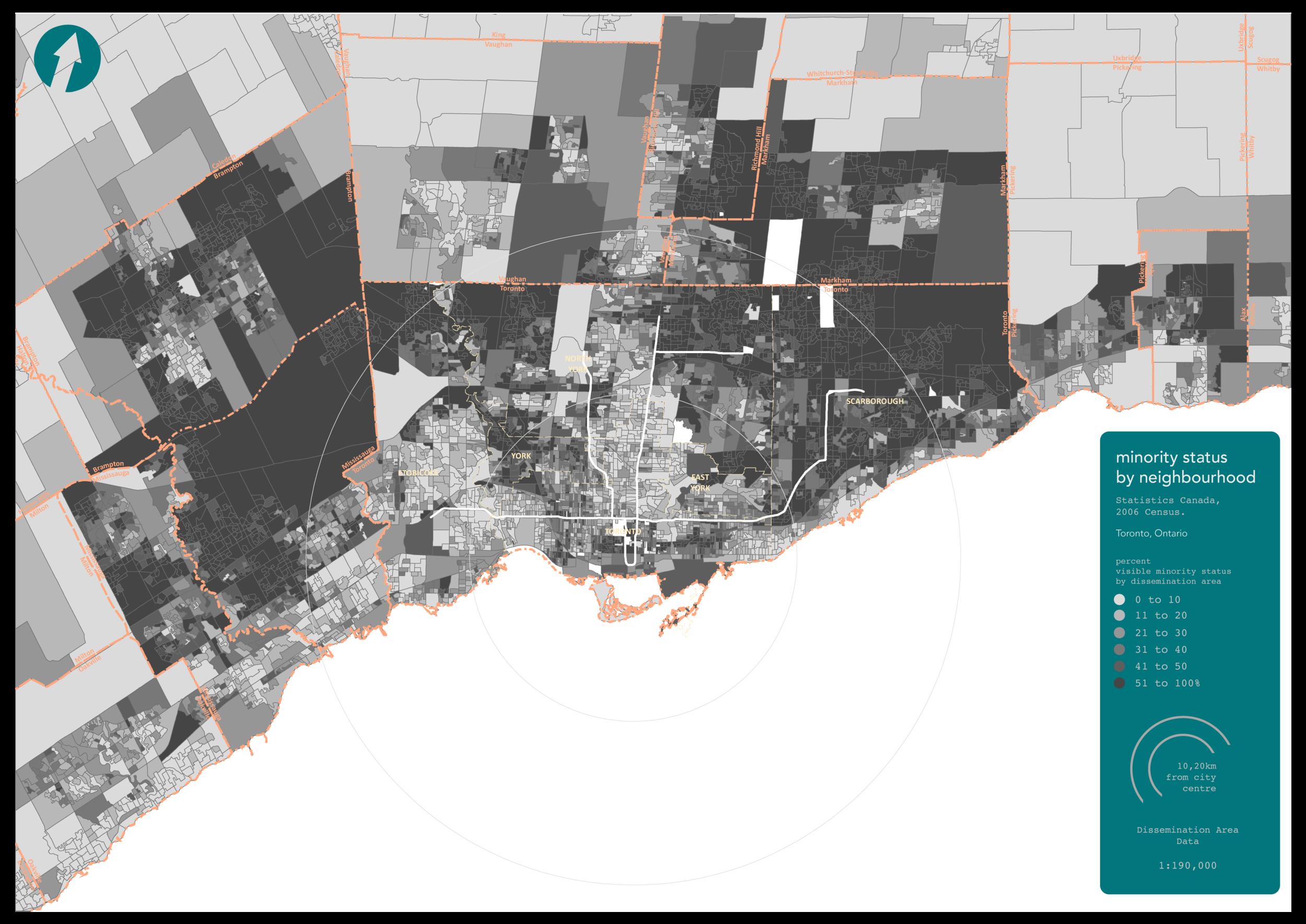 Greater Toronto Area, 2006 Census Data