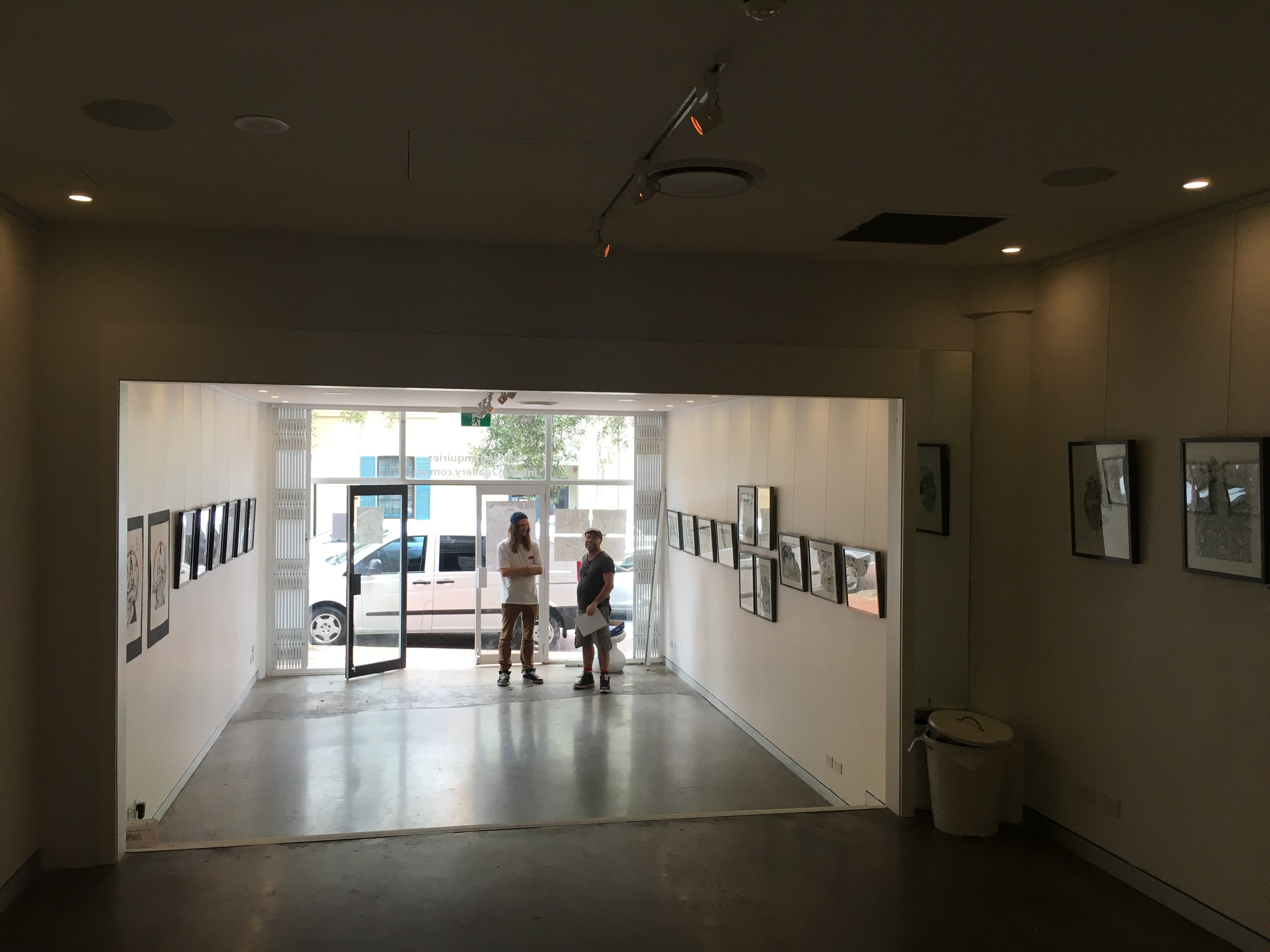 Gallery for Guy's exhibition