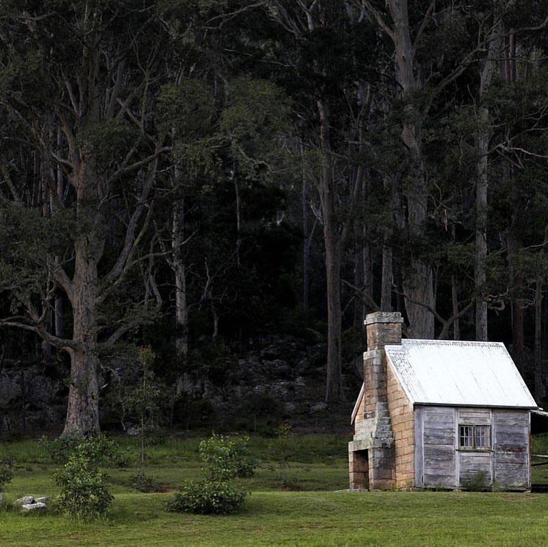 """The """"Single Man's Cottage"""" at Bundanon"""