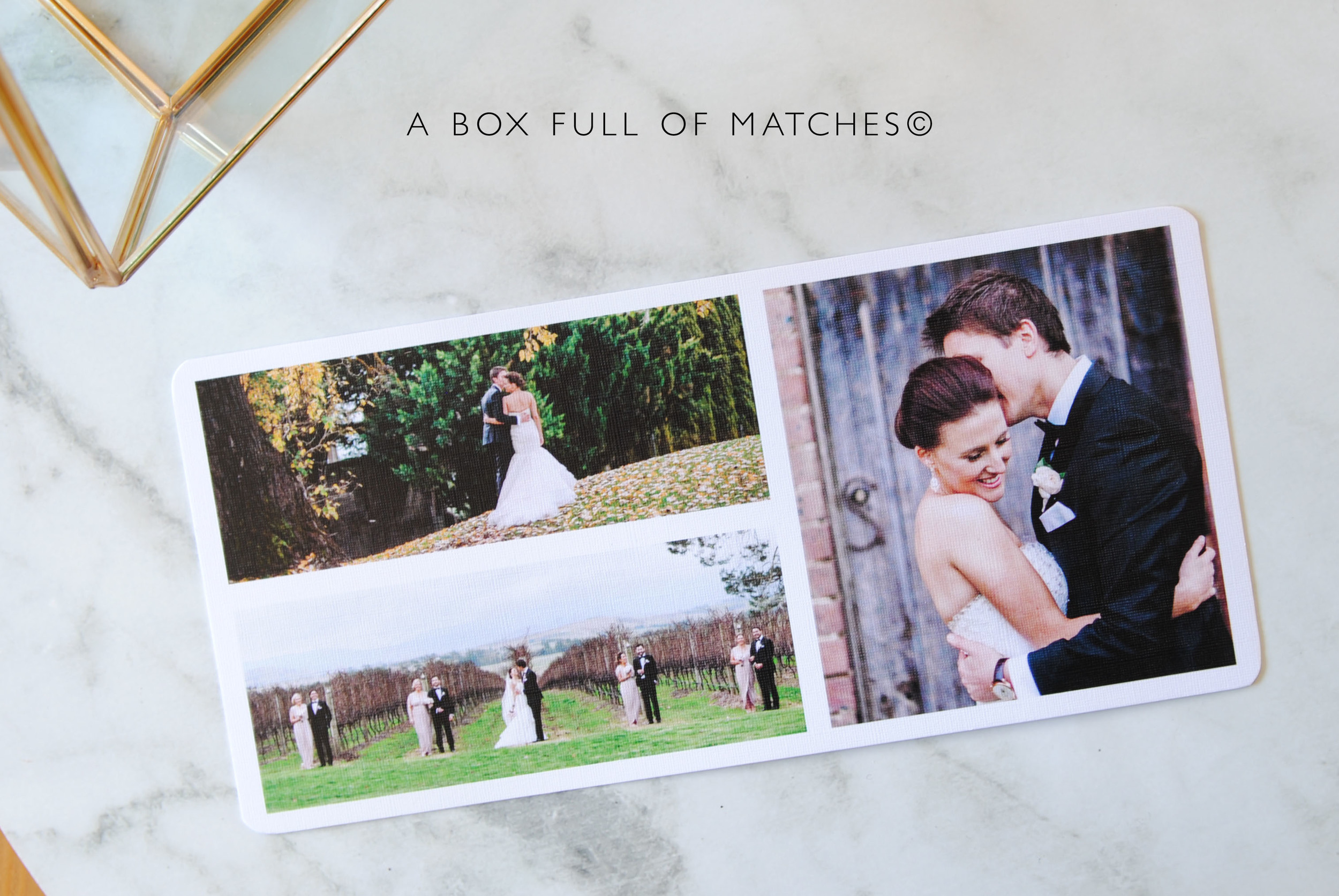 Thank you cards with photos