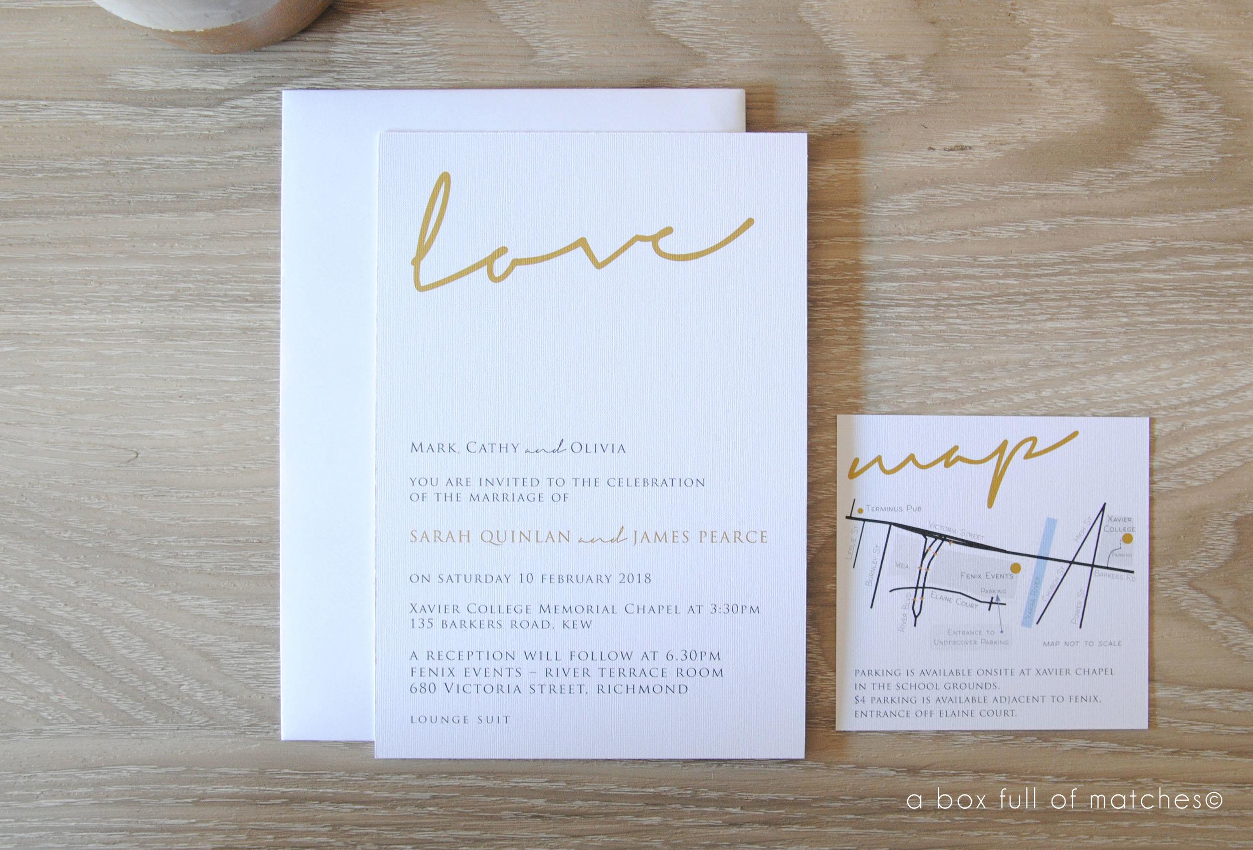 ExistingDesigned Wedding Invites -