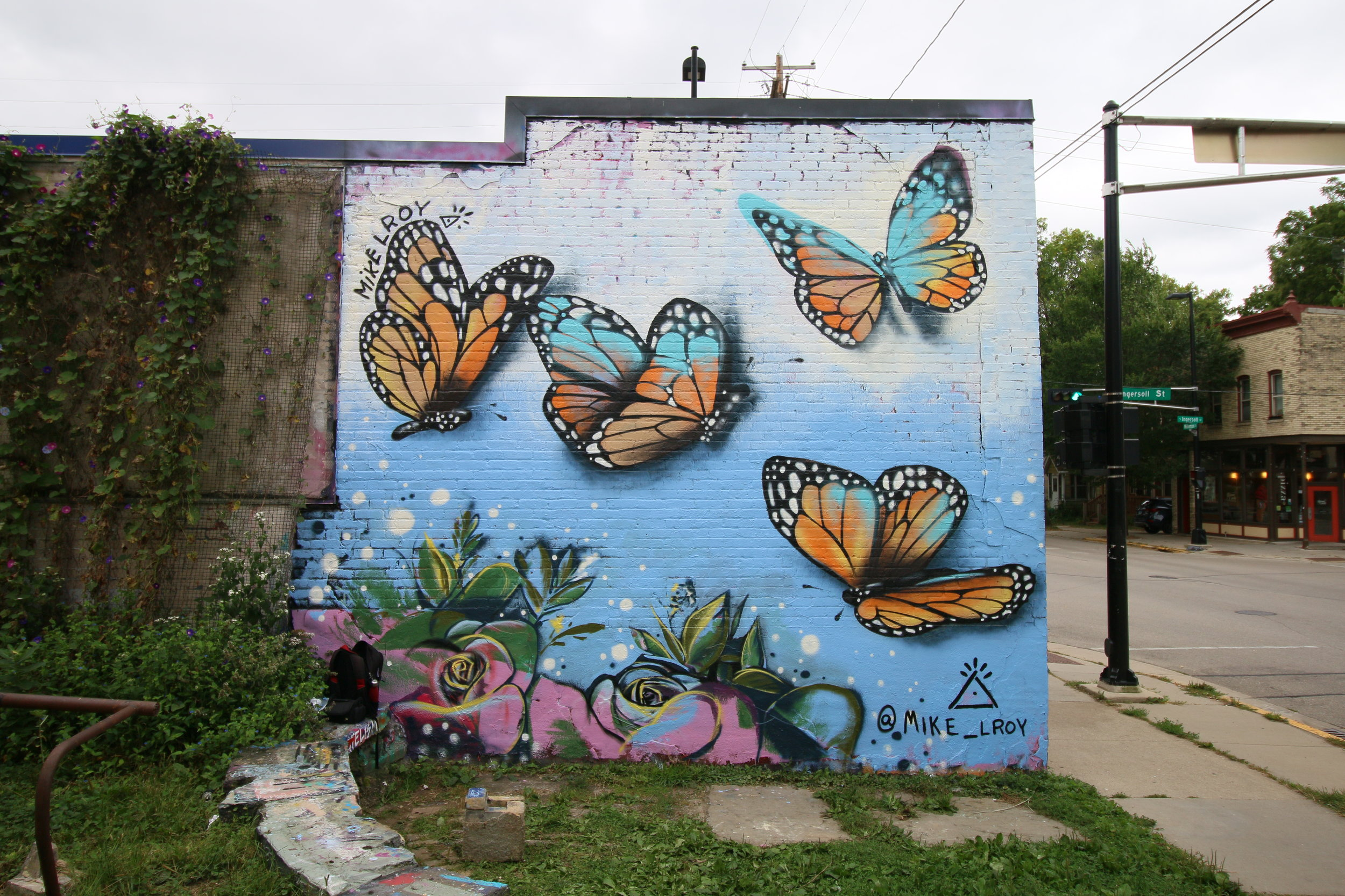 Mike Lroy Monarch Mural Mother Fools Coffeehouse Madison WI 3.JPG