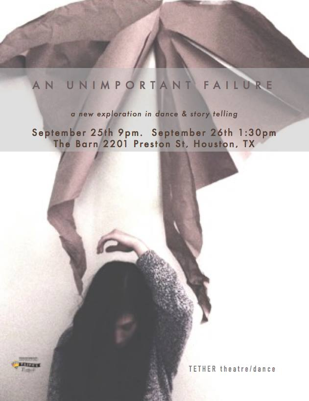 An Unimportant Failure  by Zoey Cane Belyea and Devon J. Adams. 2015.