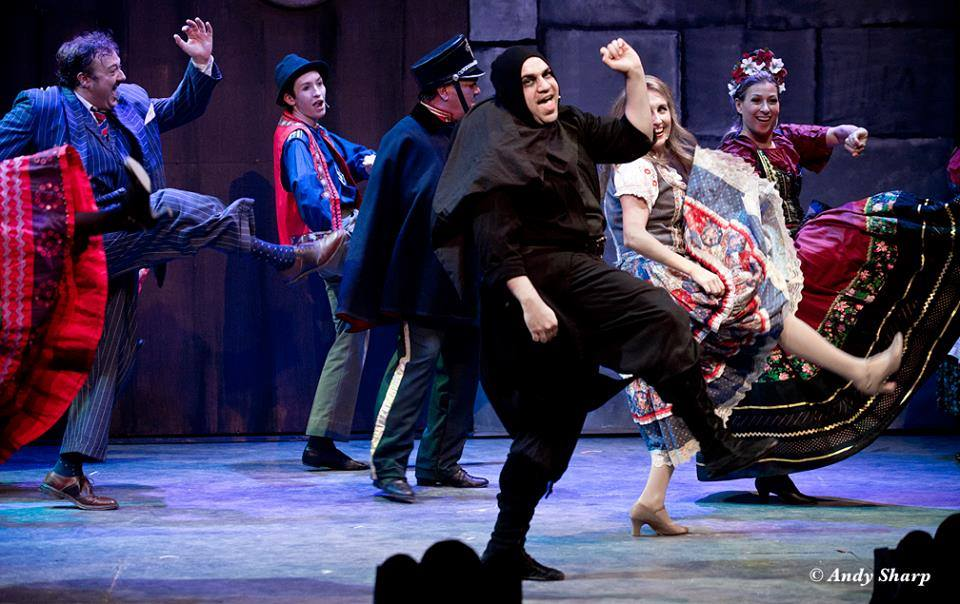 The New Mel Brooks Musical: Young Frankenstein,  Georgetown Palace Theatre, 2015. Photo © Andy Sharp.
