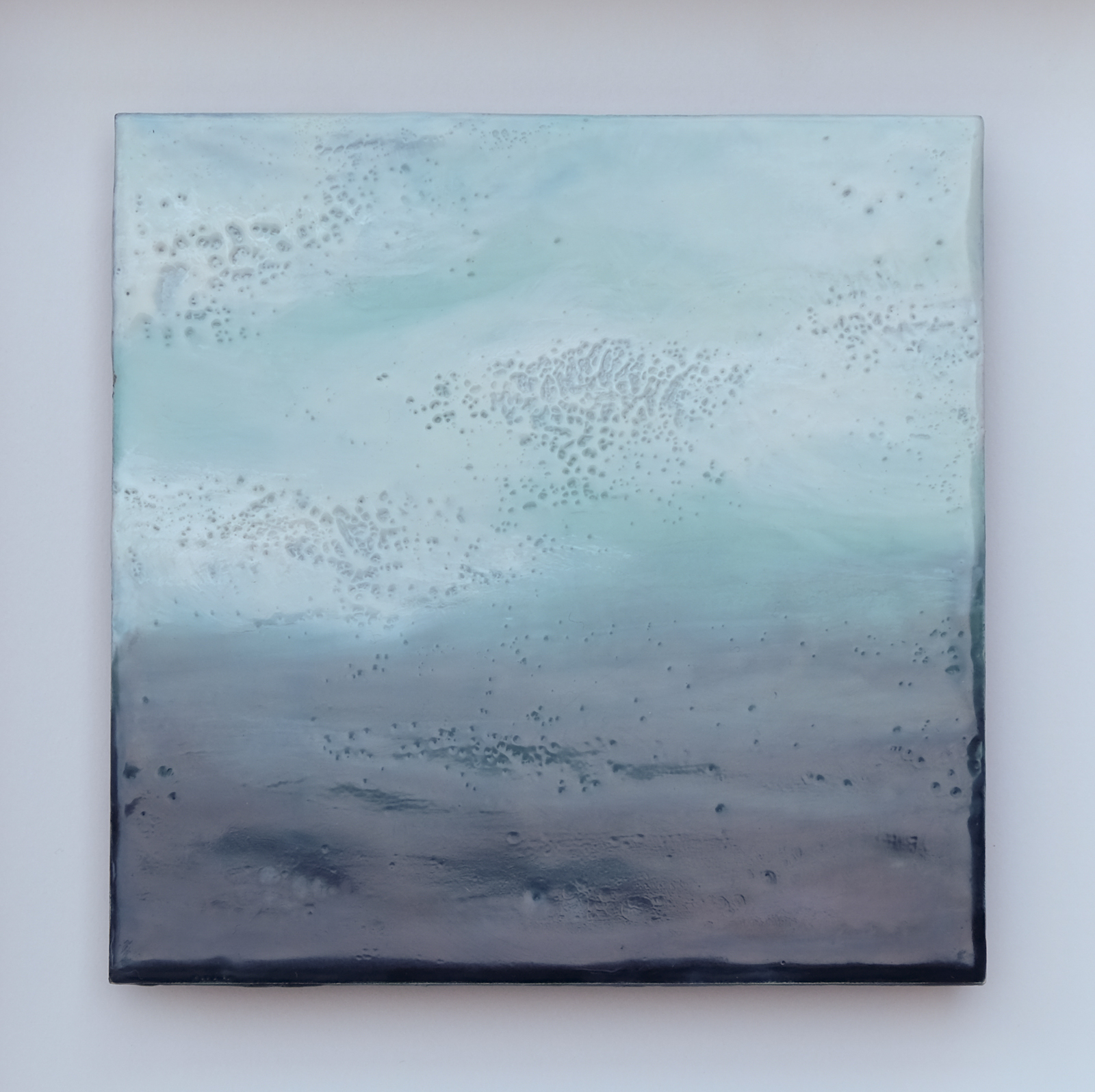 Encaustic and oil paint  2016  Sold