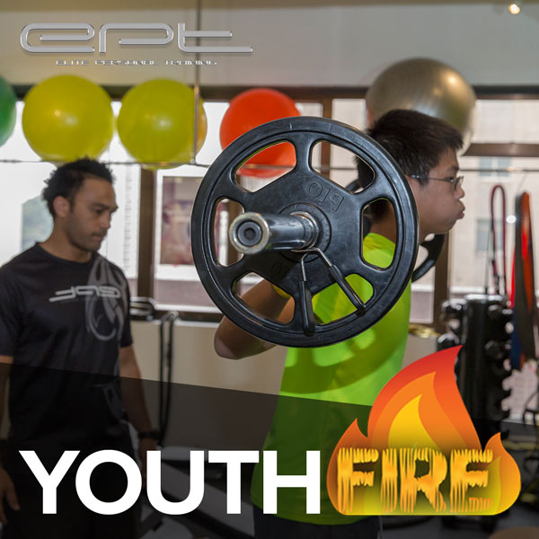 Youth FIRE Strength & Conditioning programme  (Ages 13-16)  builds strength, fitness and confidence in youngsters.
