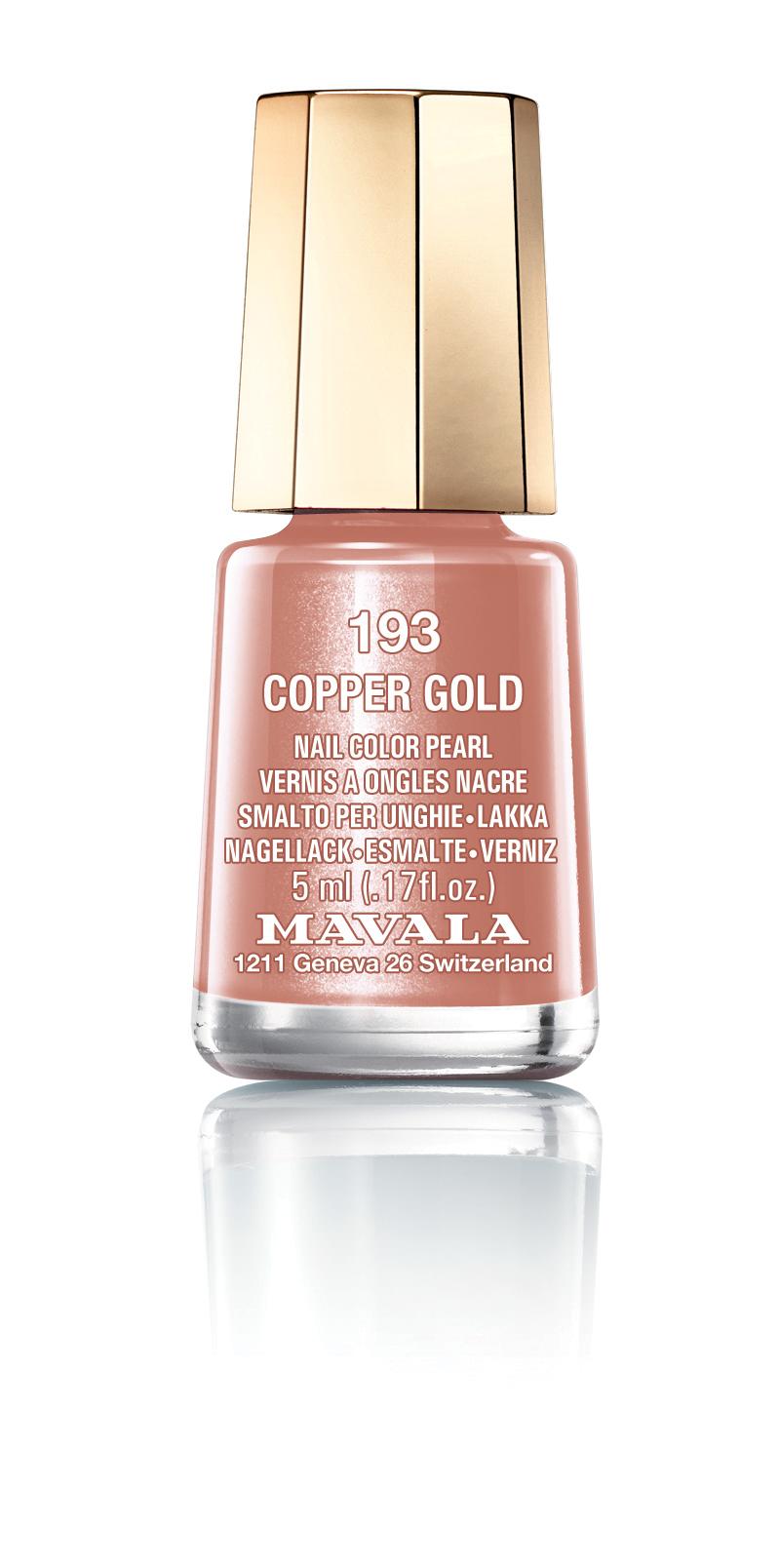 193 COPPER GOLD*