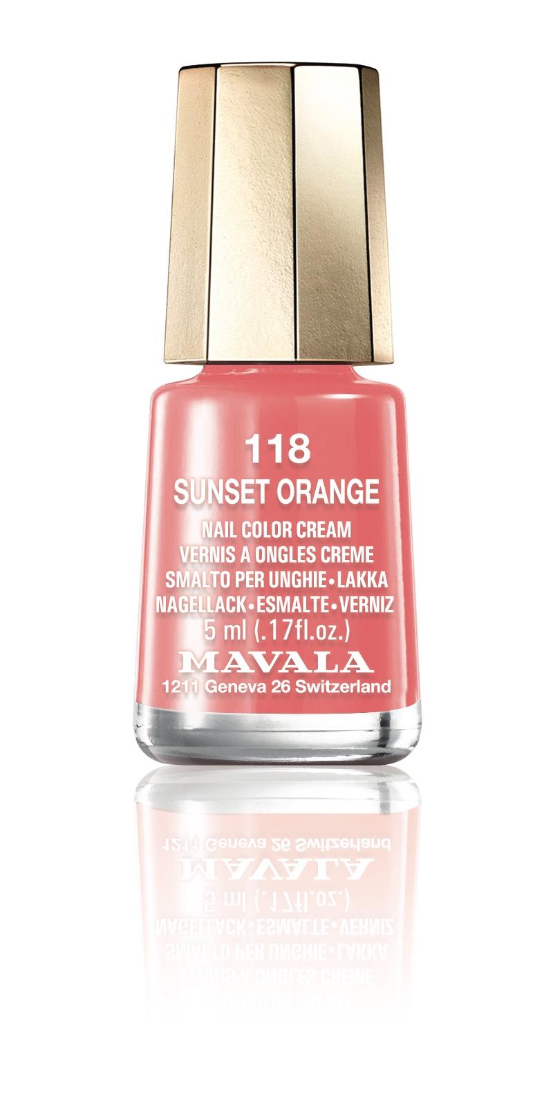 118 SUNSET ORANGE