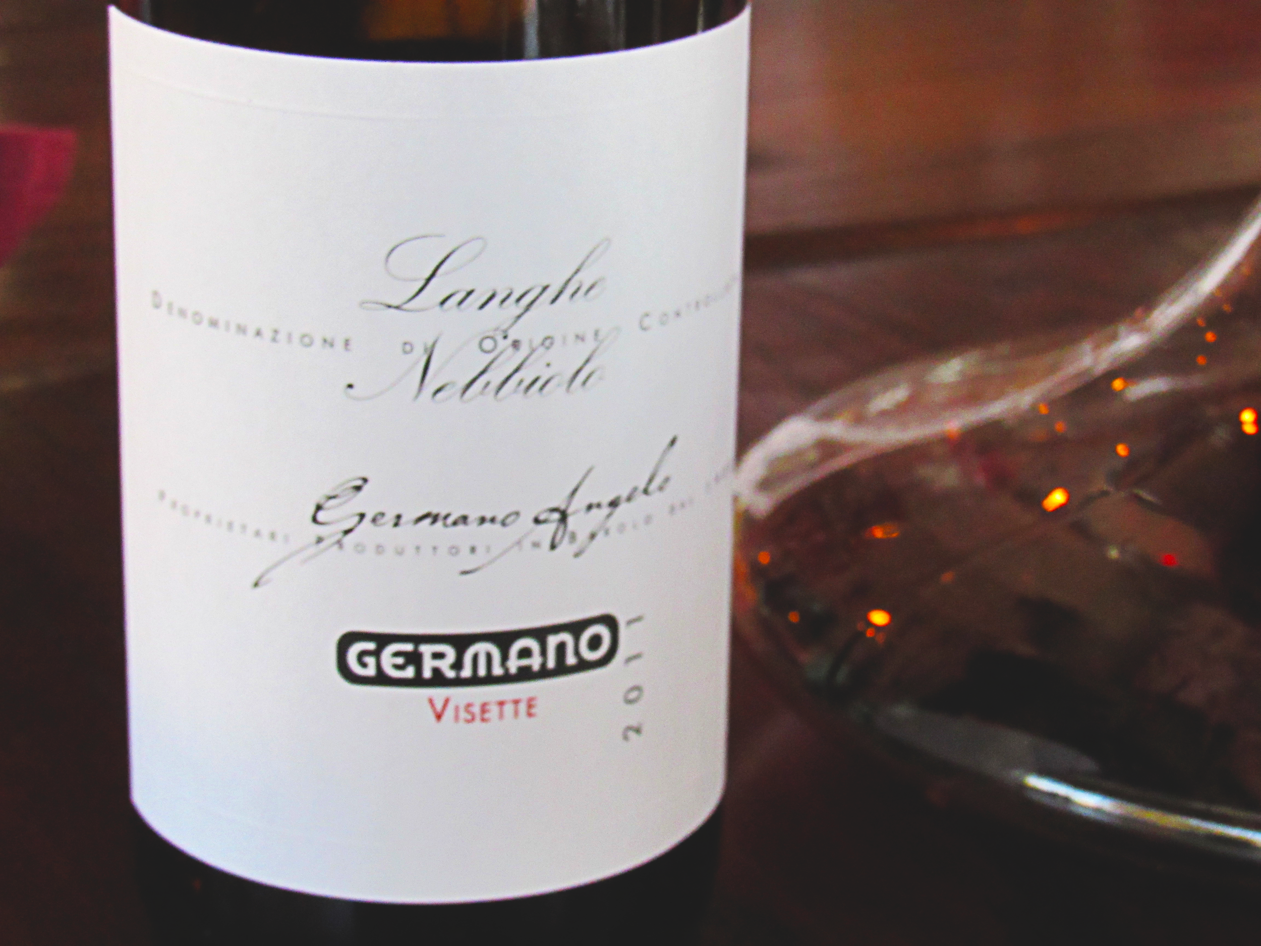 Angelo Germano Neddiolo Lange Visette. 2011 was a good year.