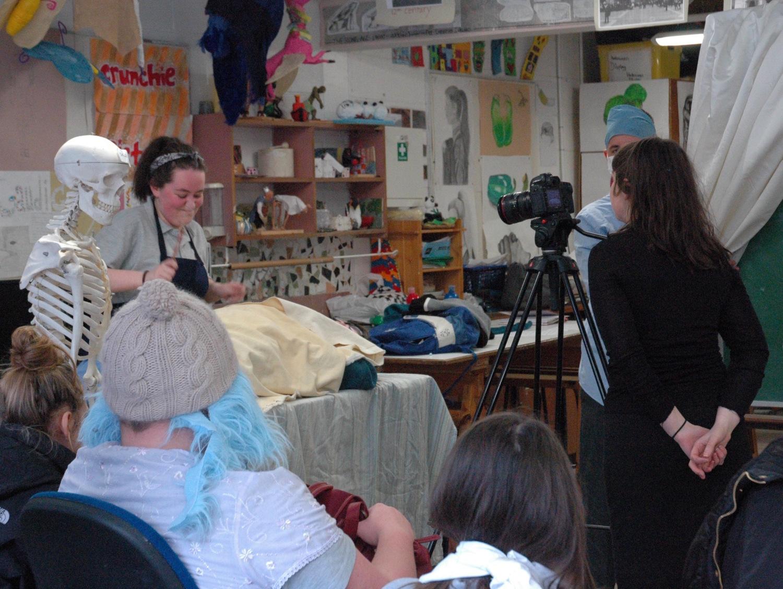 Videographer Jenny Brady captured their drama on camera