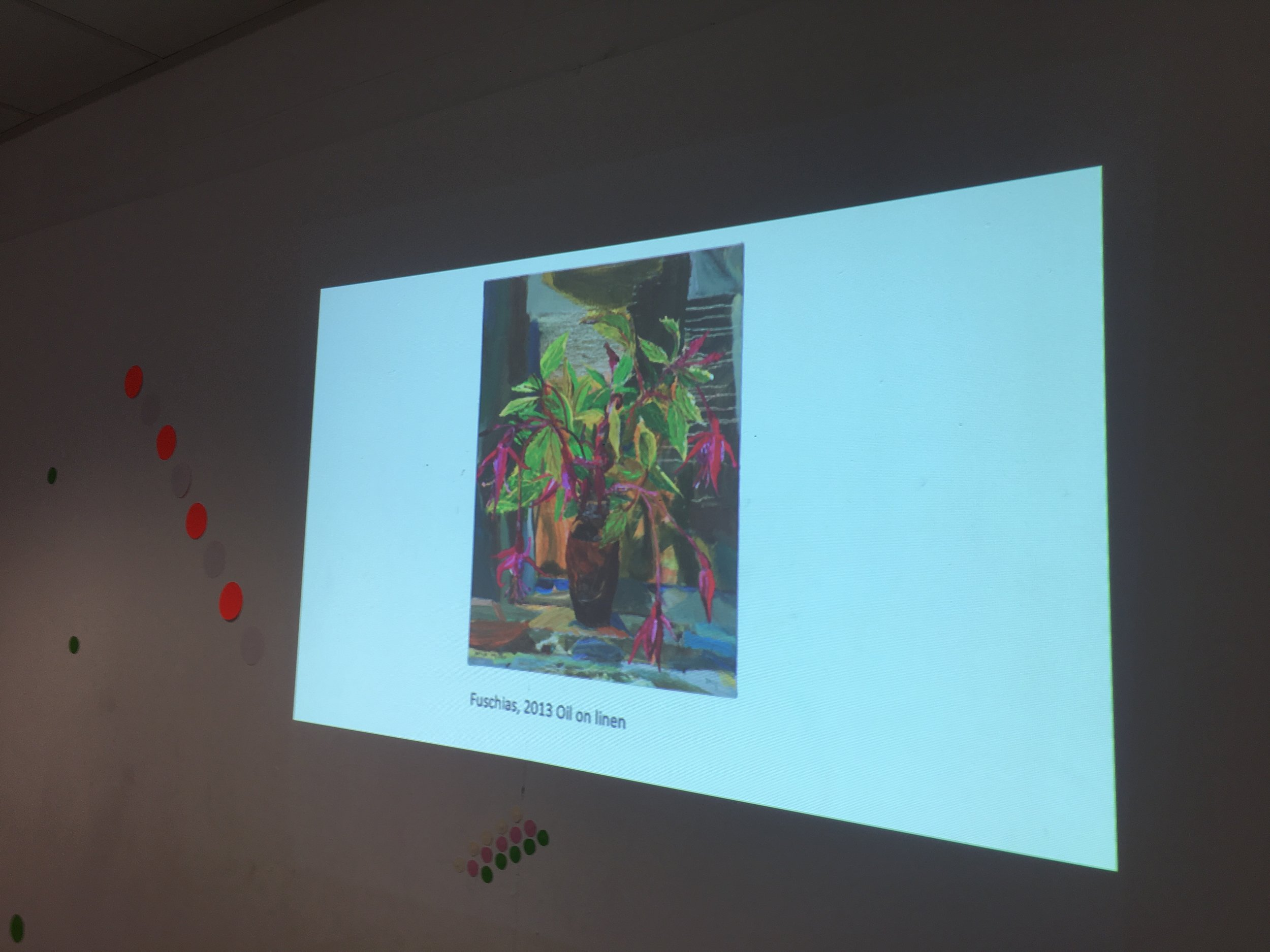 Looking at the practice of artist Nick Miller and his focus on drawing and painting plants from life
