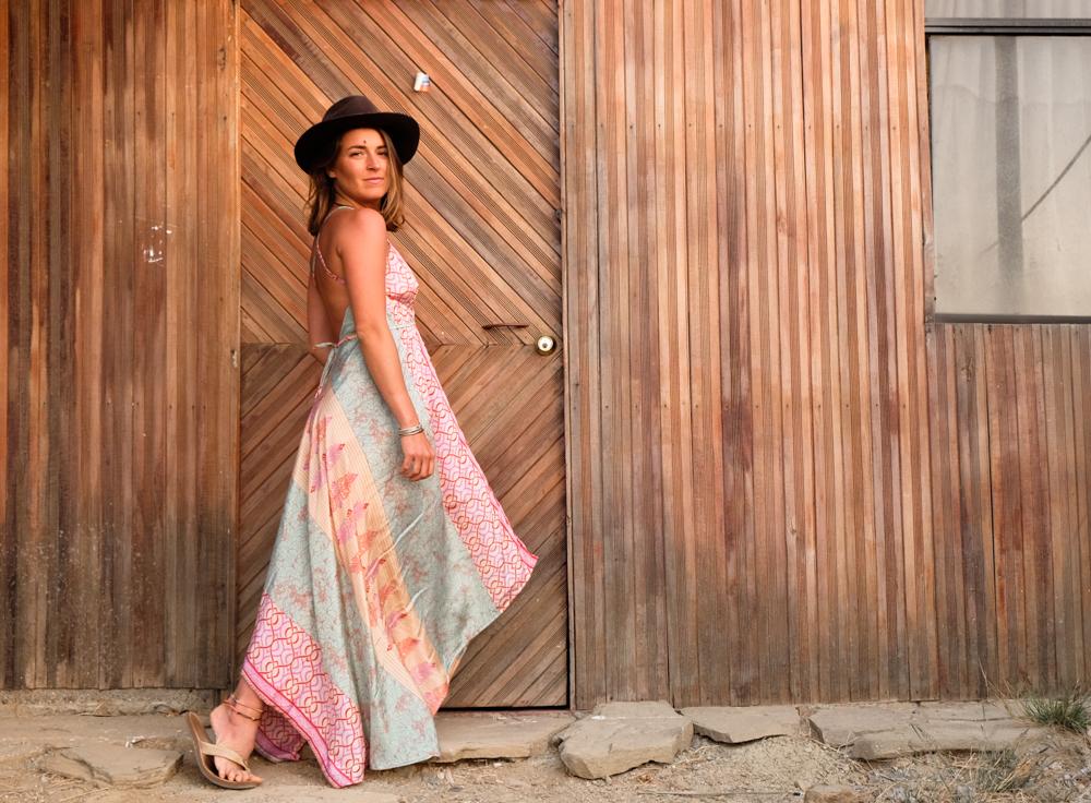 Emily wearing Sailaway