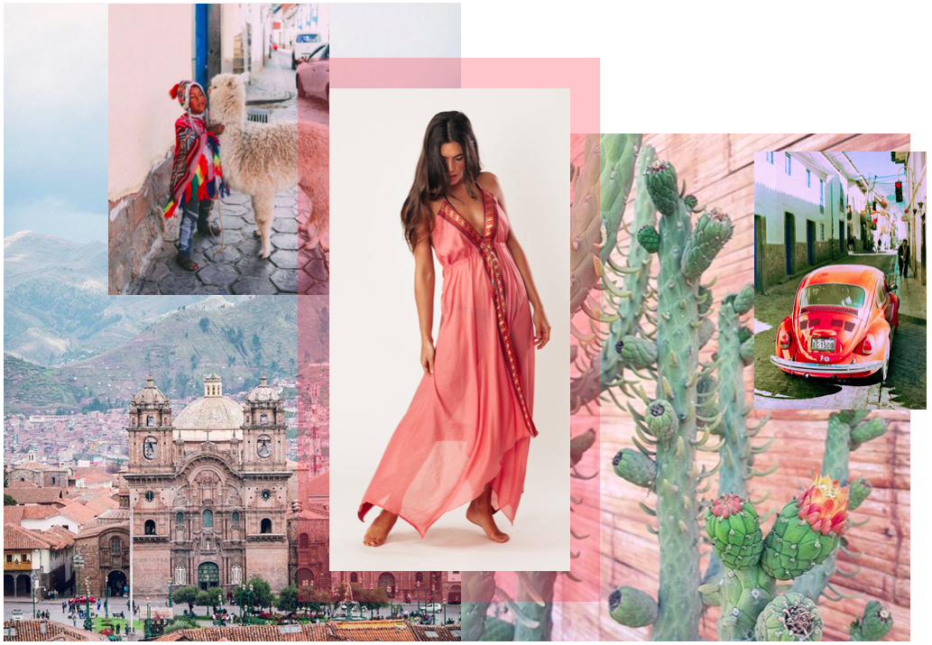 Sylvia wears the Ipanema in Peony Pink   |   Images by  Ale & via  Pinterest