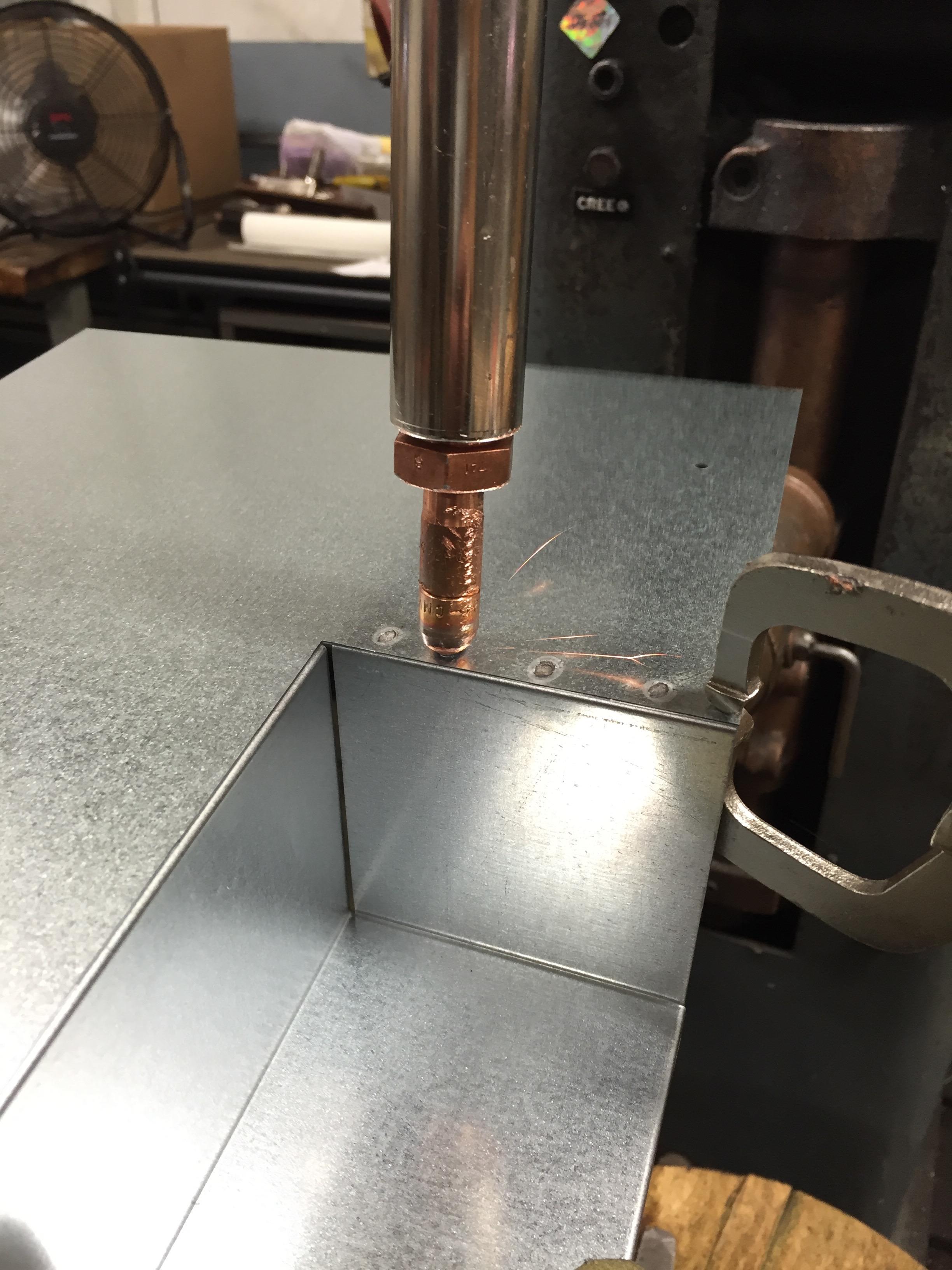 Spot welding-machine2