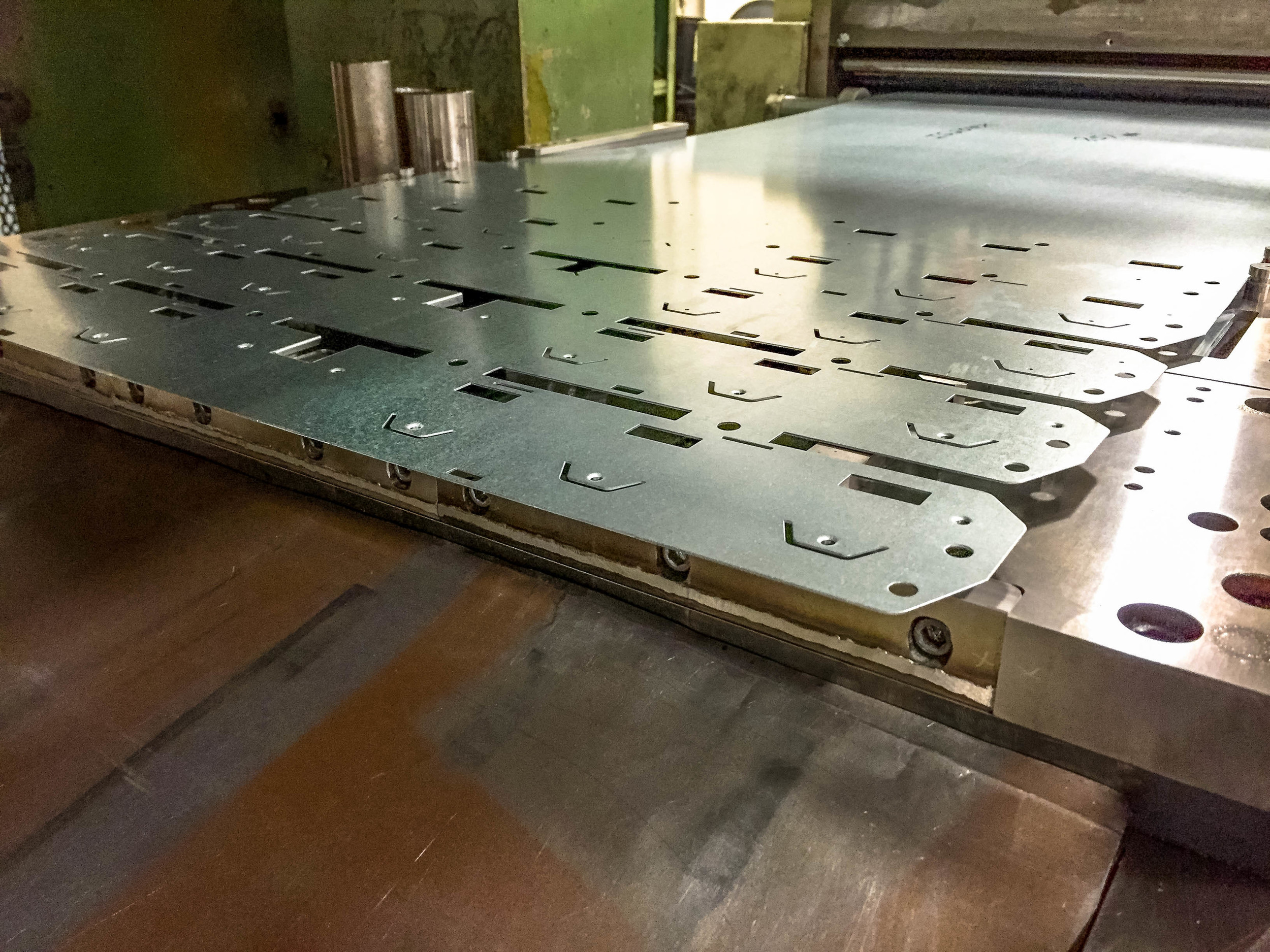 Metal Stamping Punch Press Product and Die