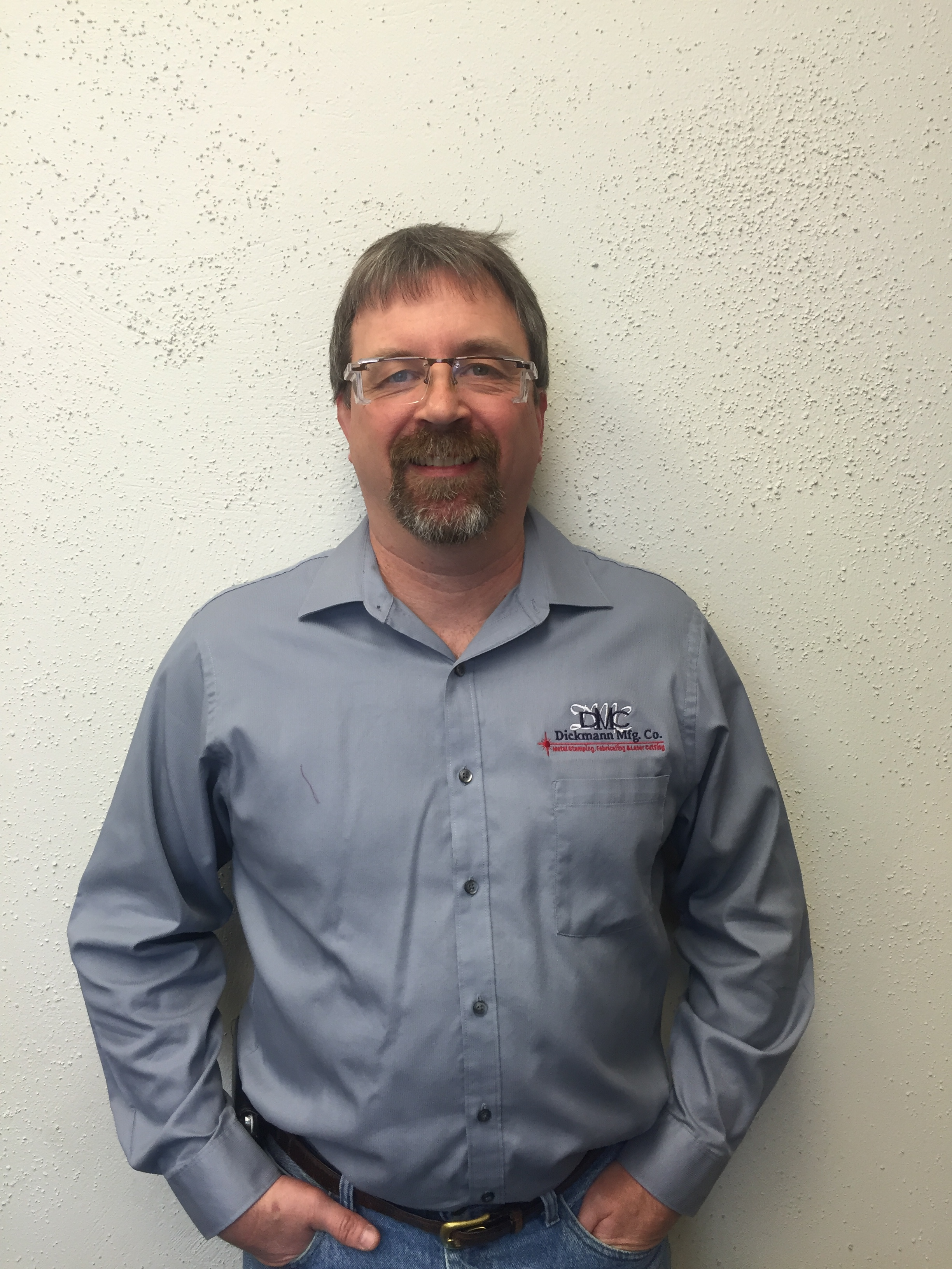Mark is the President of Operations at Dickmann