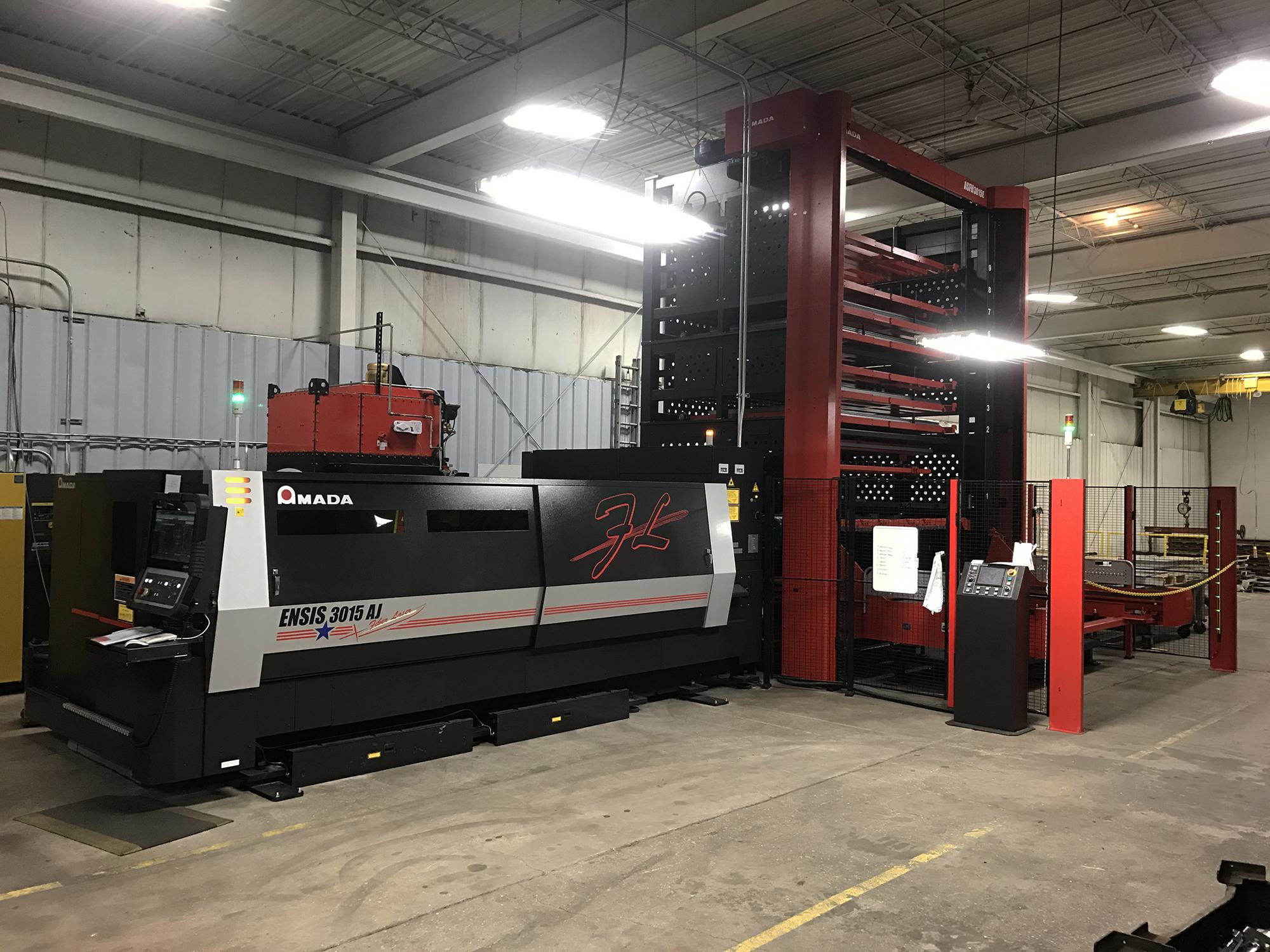 New fiber laser cutter machine