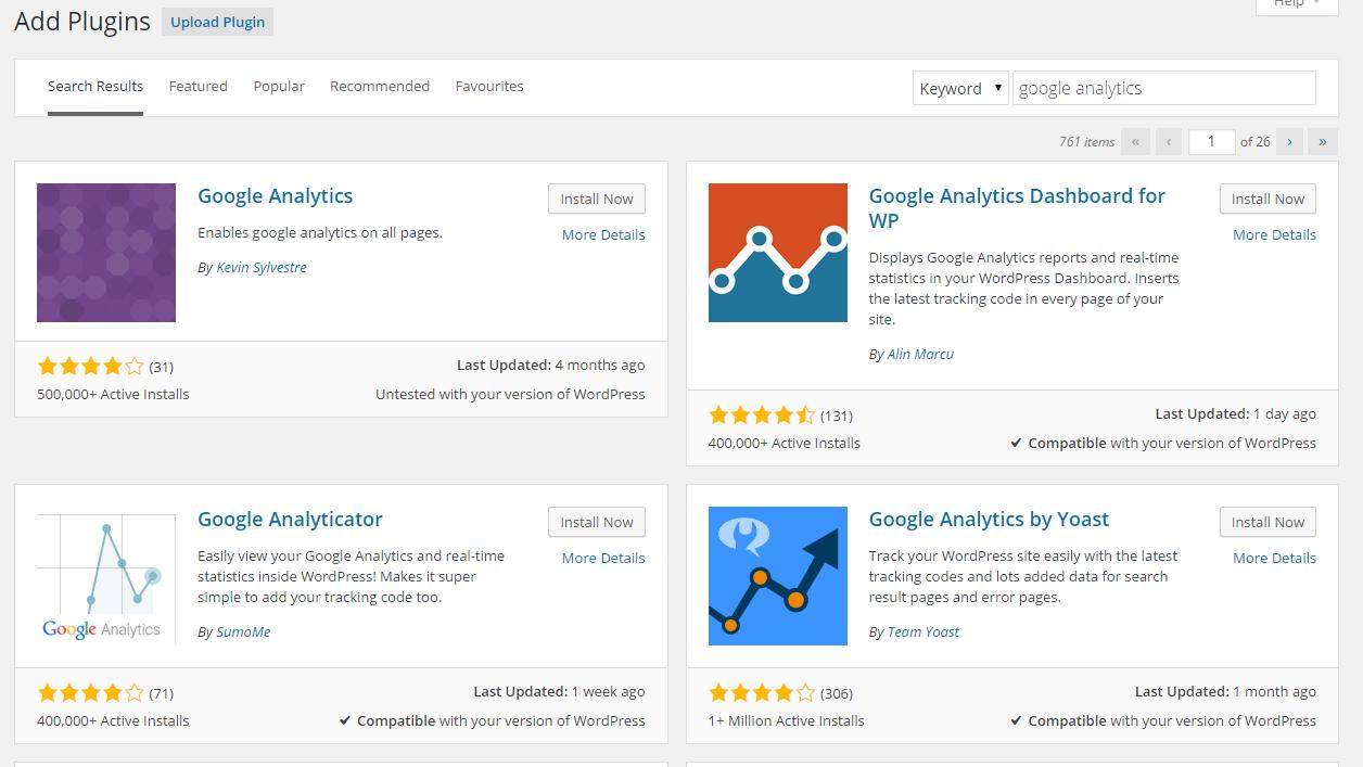 Google analytics set-up step 3