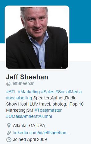Jeff Sheehan on Twitter