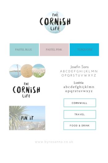 The Cornish Life Brand Concept byRosanna