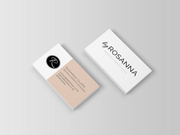 byRosanna business card designs