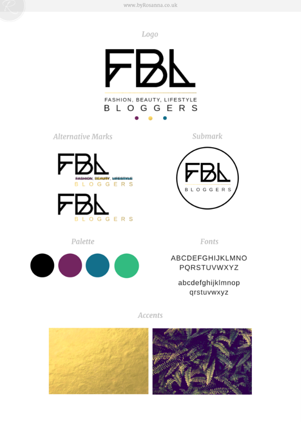 FBL Bloggers Brand Concept