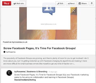Rich pins on Pinterest (Pinterest Marketing tips)