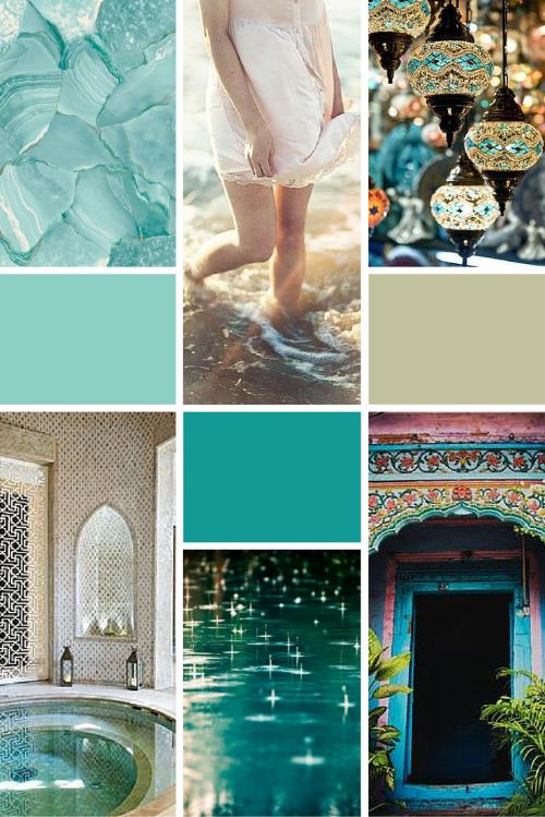 Midweek Moodboard: Turquoise Sunlight