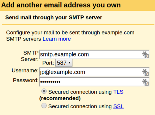 Gmail POP