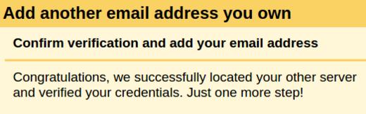 Gmail verification