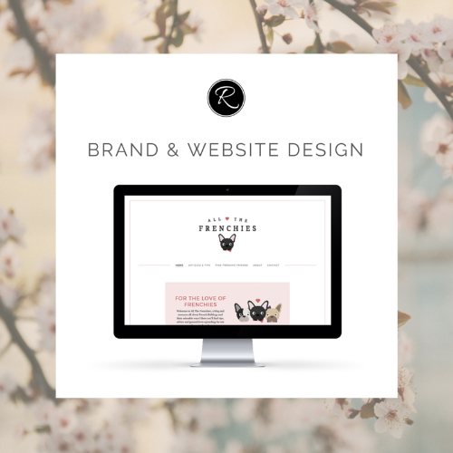 All The Frenchies - Brand & Website Design Launch!
