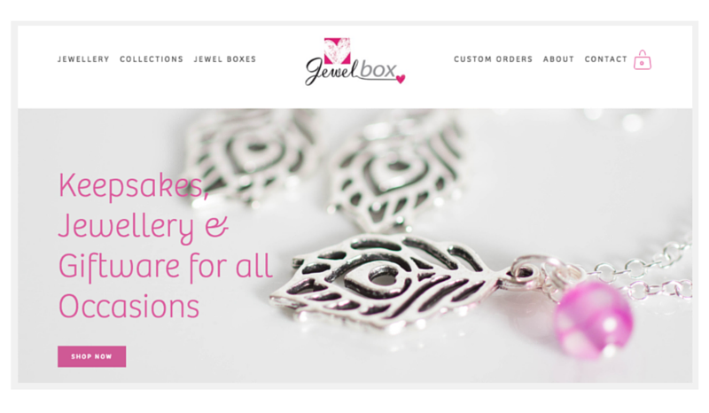 Jewel Box Cornwall new website byRosanna