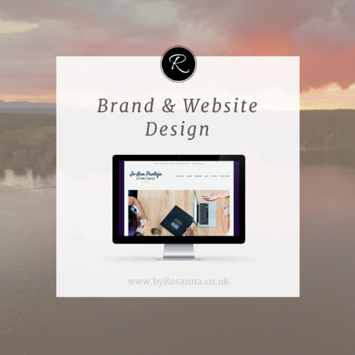 Brand & Website Design for JoAnn Pantoja (byRosanna)