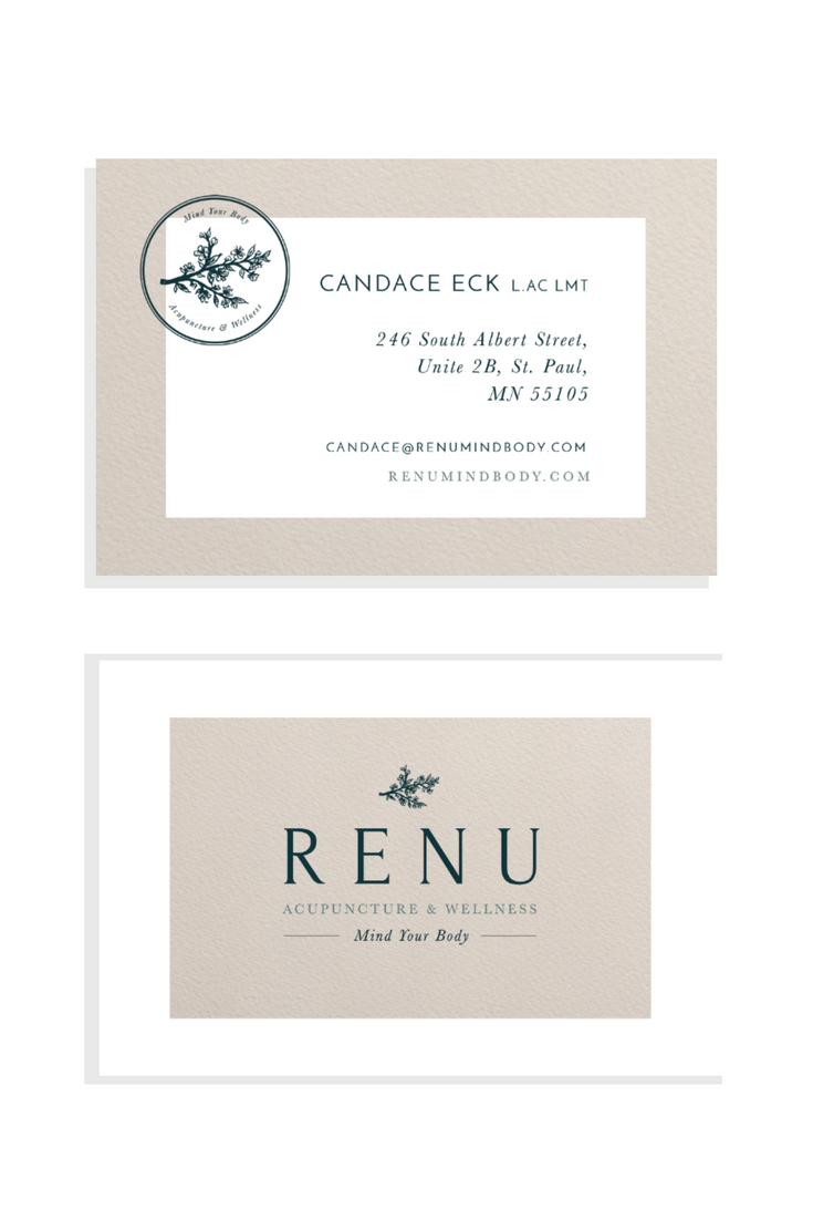Business Cards for ReNu