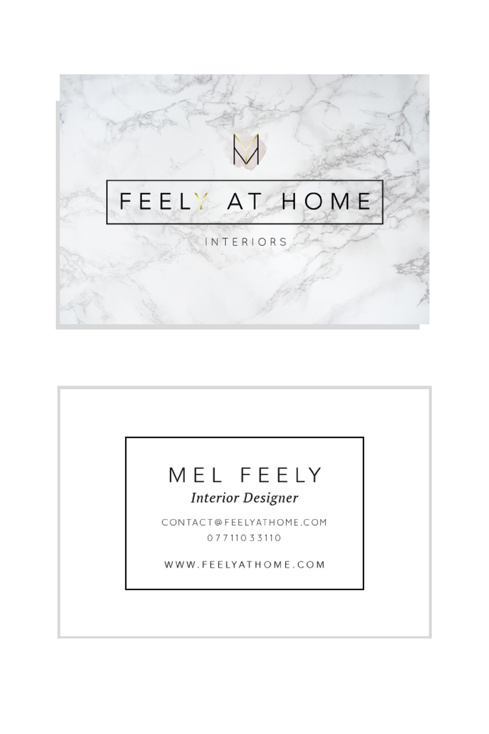 Feely at Home business cards