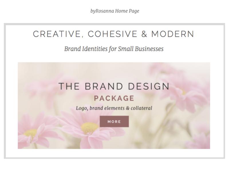 byRosanna Home page