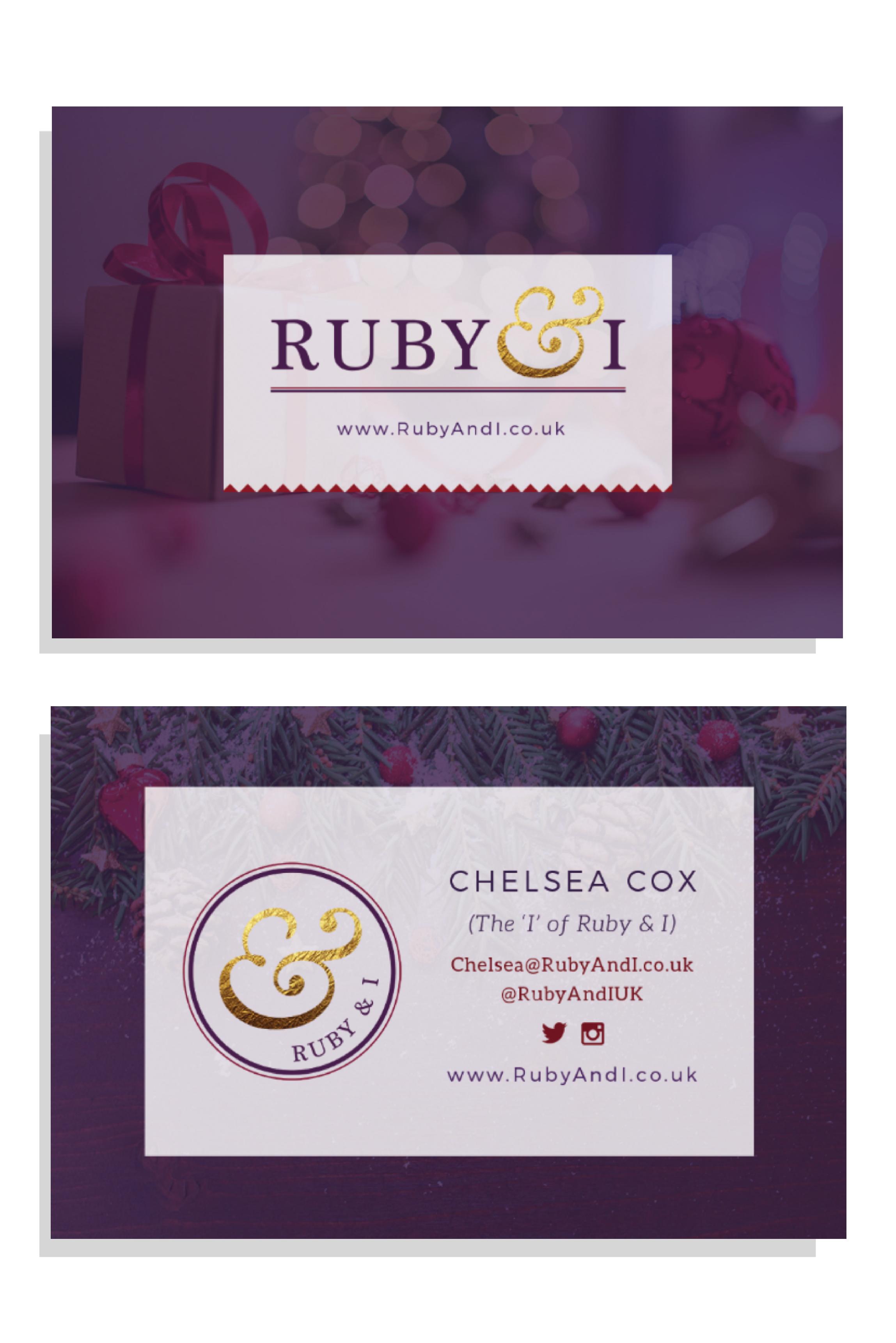 Ruby & I Brand Collateral | byRosanna