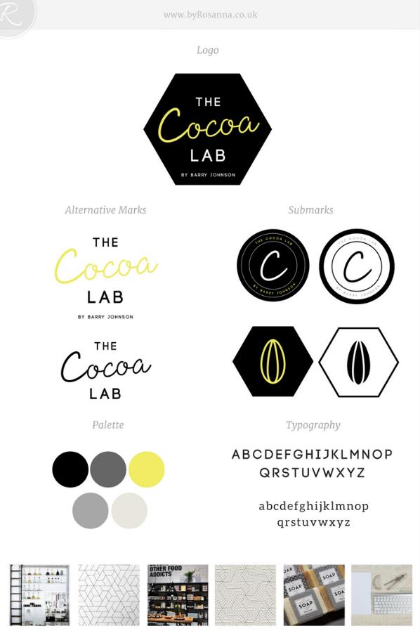 The Cocoa Lab Brand Concept | byRosanna