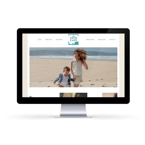 Cove Cafe website design