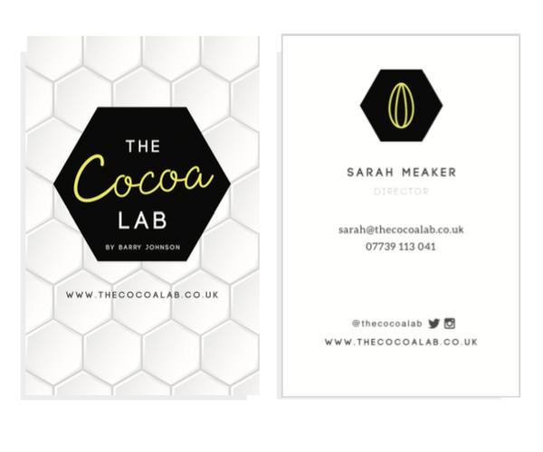 Business Cards for  The Cocoa Lab