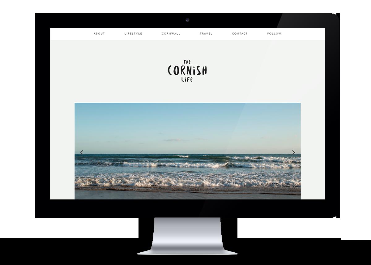 The Cornish Life website
